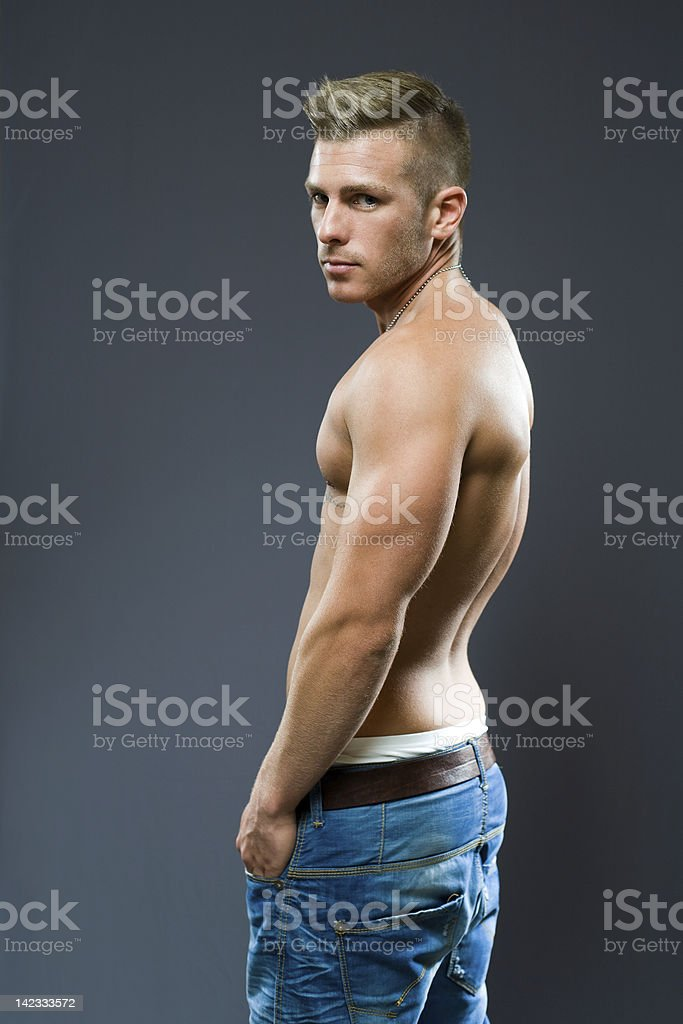 The cool guy. royalty-free stock photo