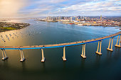 The Coronado Bridge Across San Diego Bay