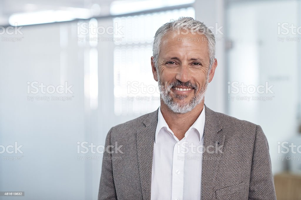 The corporate world is where I belong stock photo