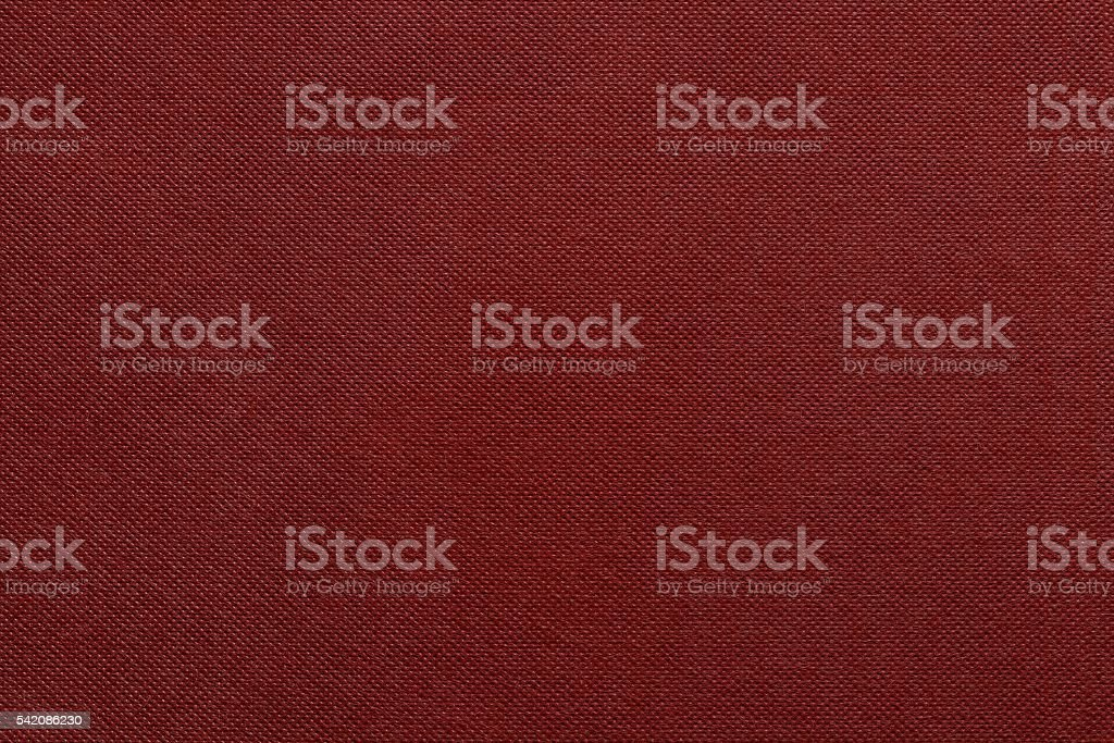 the corrugated textured design of fabric red color stock photo