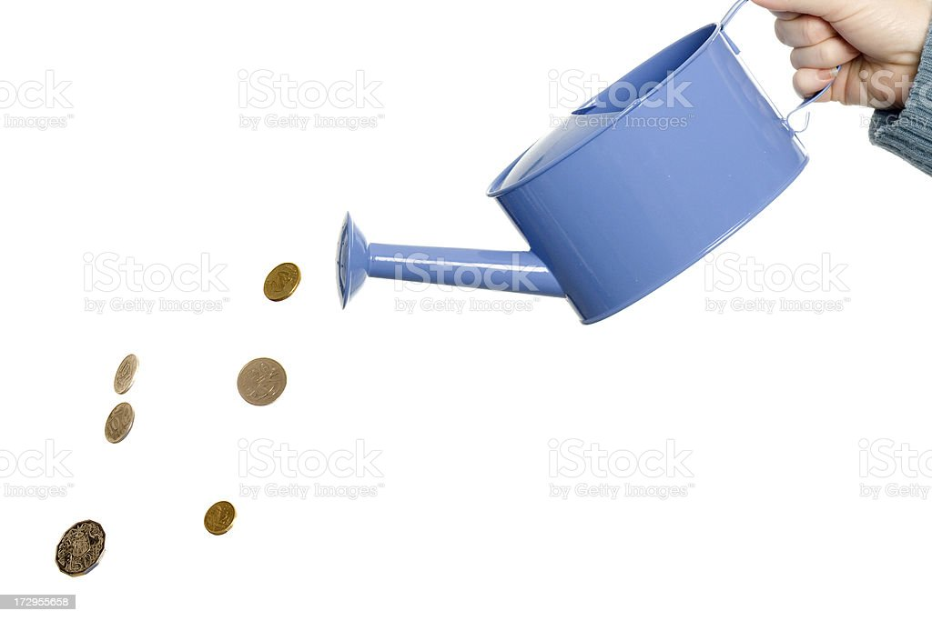 The Cost Of Water royalty-free stock photo