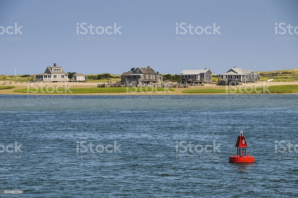 The Cottages at   Bouy Eight stock photo