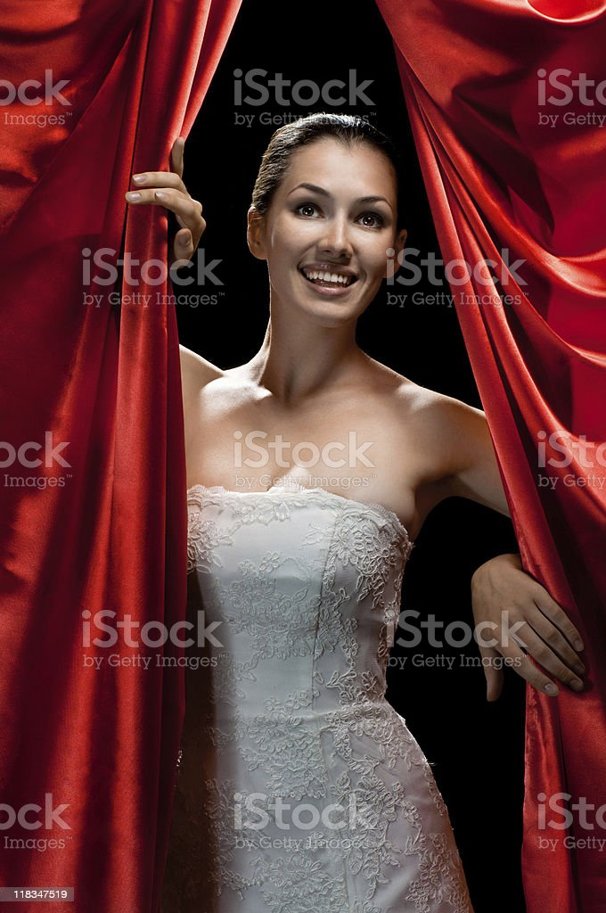 the coulisses royalty-free stock photo