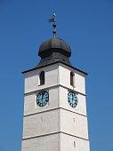 The Council Tower (Turnul Sfatului) in Sibiu city, Romania