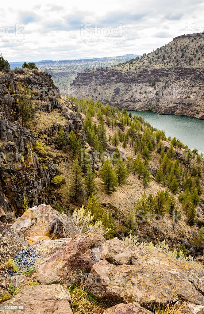 The Cove Palisades State Park stock photo