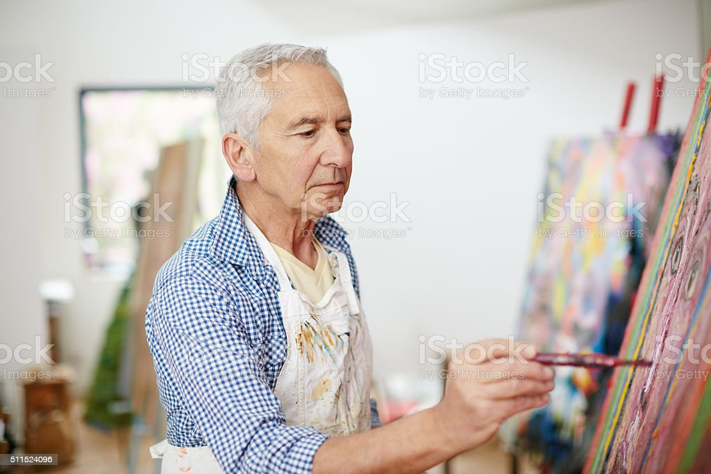 The creative adult is the child who survived stock photo