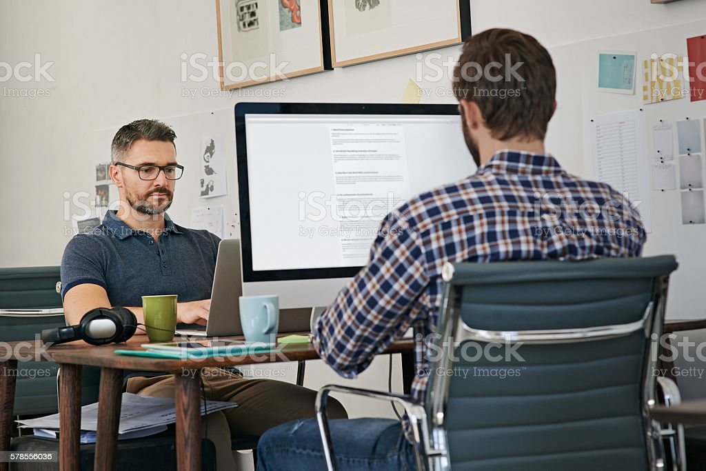 The creative approach to business stock photo