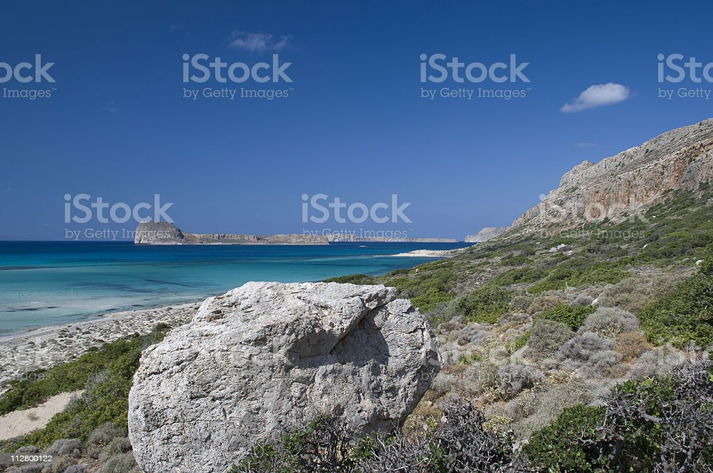 The Crete islands, Greece royalty-free stock photo