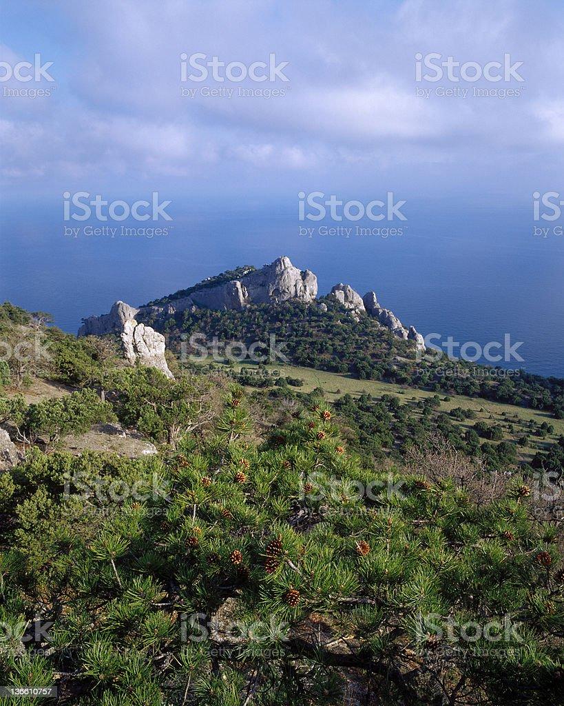 Der Küste der Krim Lizenzfreies stock-foto