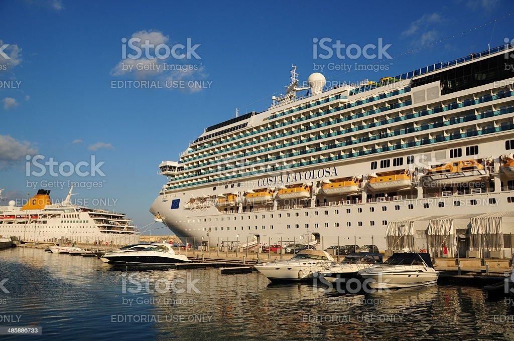 The Crociere fleet, Malta. stock photo