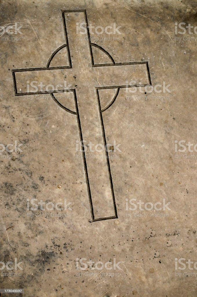 The cross... royalty-free stock photo