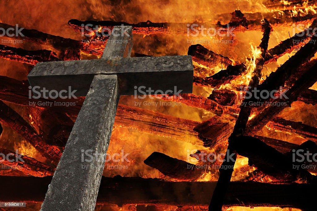 the cross stock photo