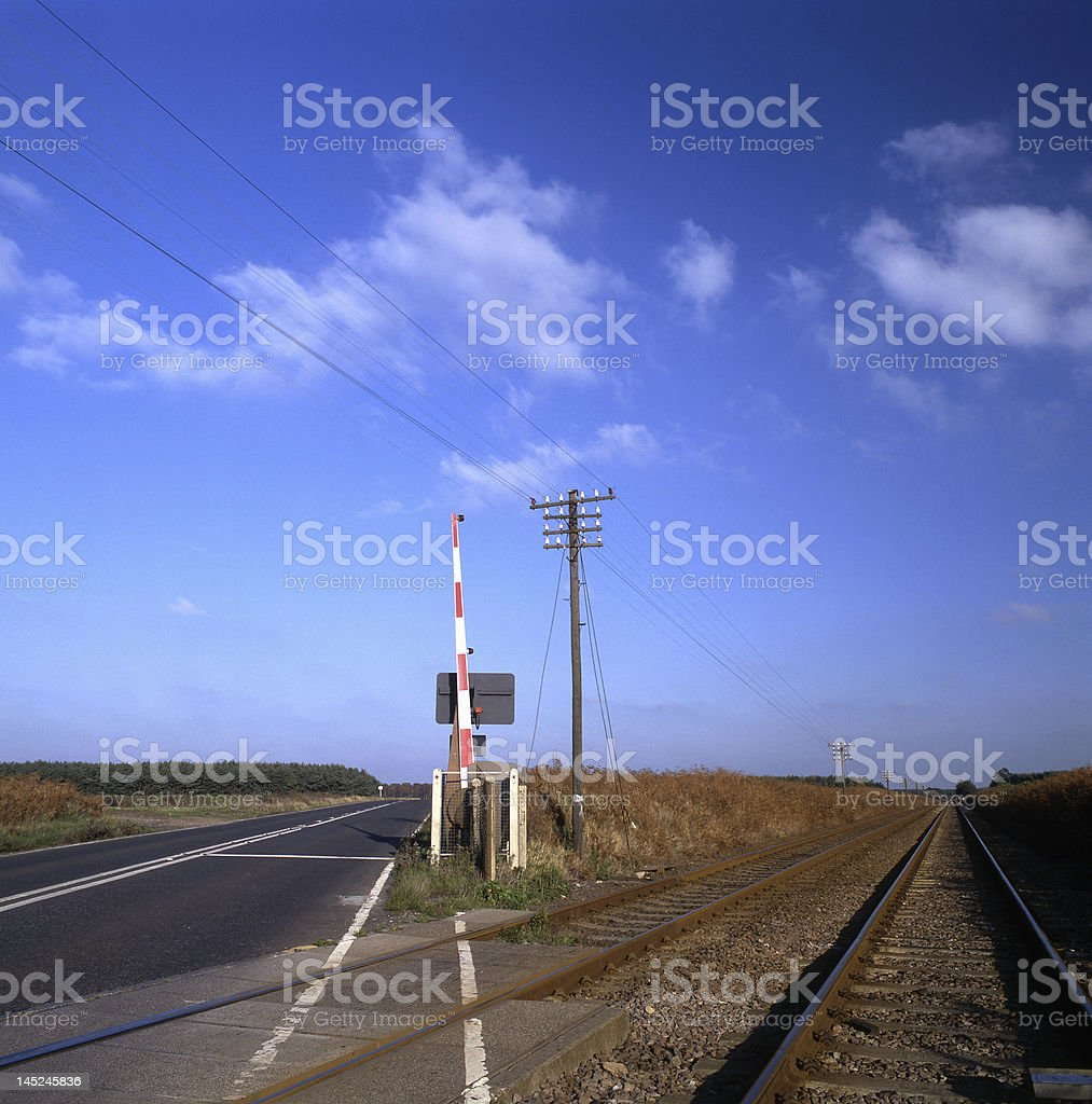 The crossing stock photo
