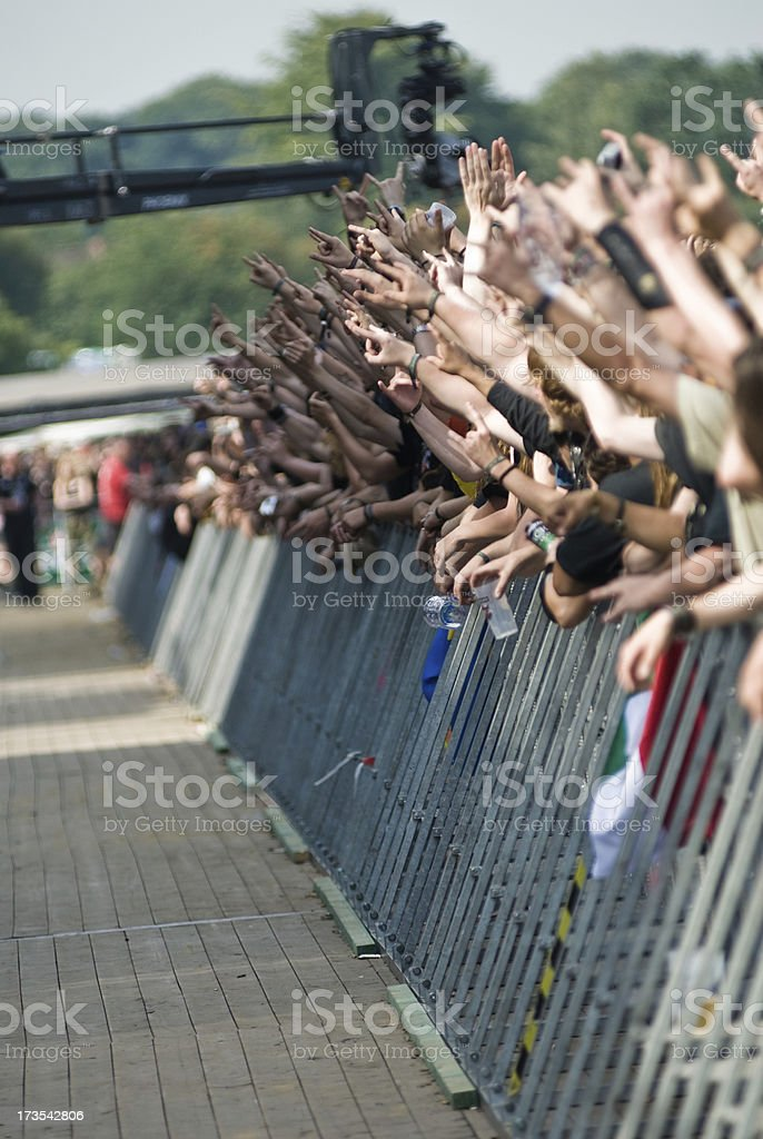 The crowd royalty-free stock photo