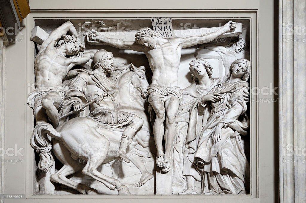 The Crucifixion - La Crocifissione stock photo