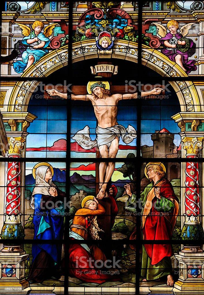 The Crucifixion, Stockholm stock photo