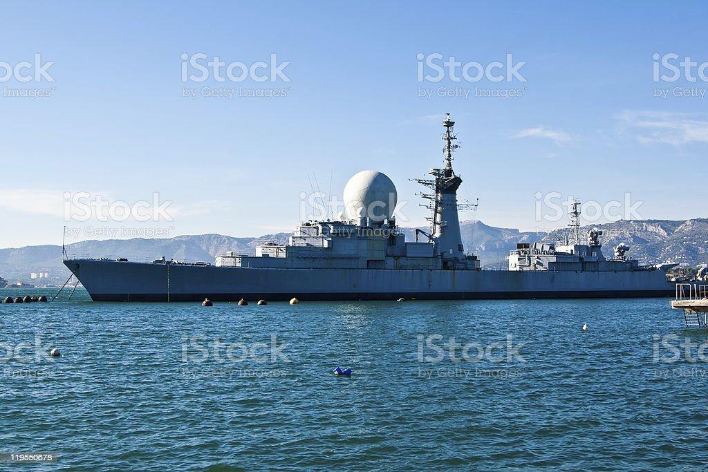 The cruiser royalty-free stock photo