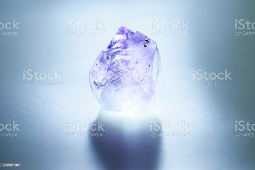 The crystal stock photo
