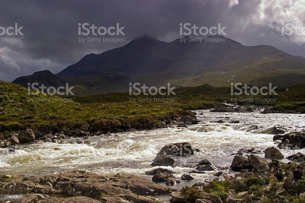 The Cuillins, Isle of Skye stock photo
