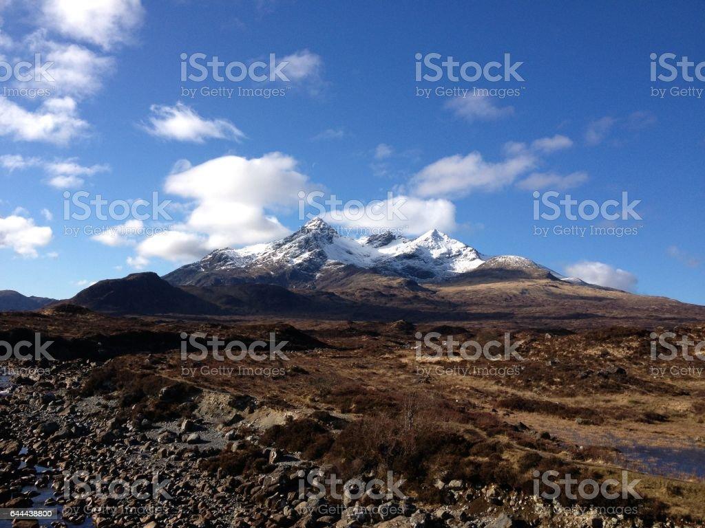 The Cuillins, Isle of Skye, Scotland stock photo