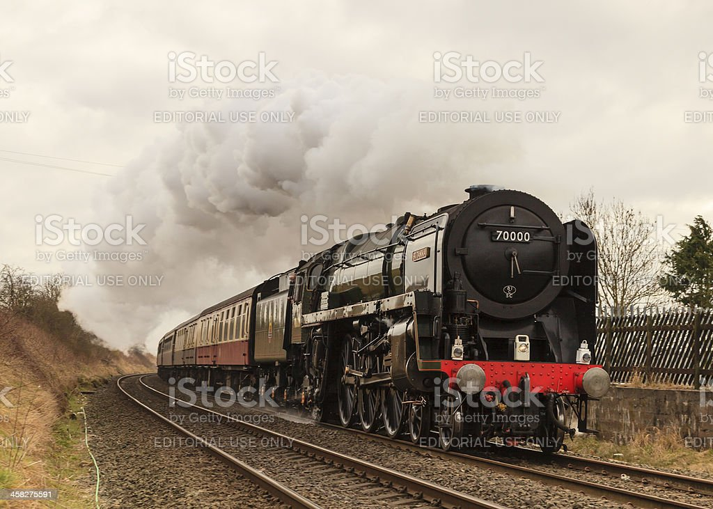 The Cumbrian Guardsman royalty-free stock photo