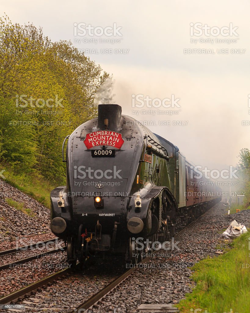 The Cumbrian Mountain Express stock photo