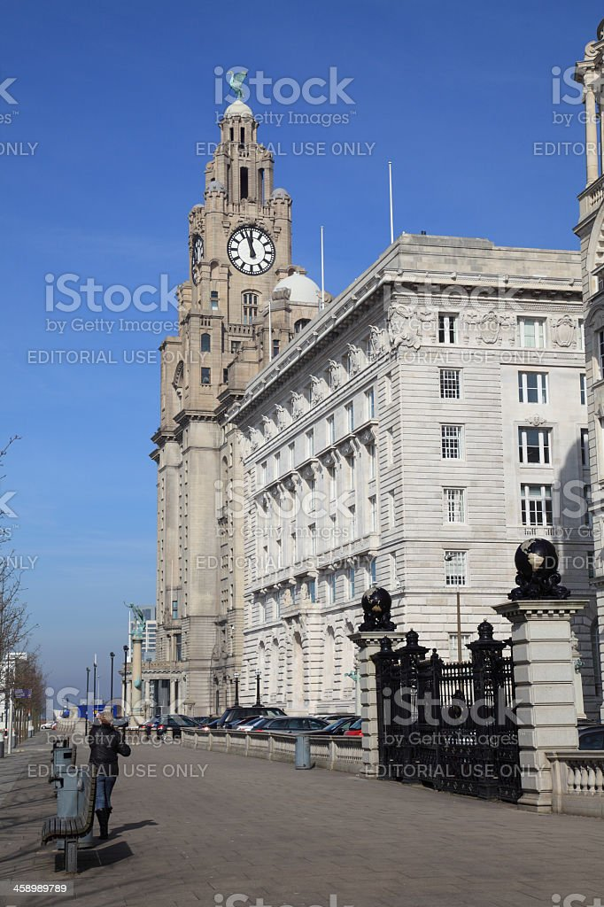 The Cunard building stock photo
