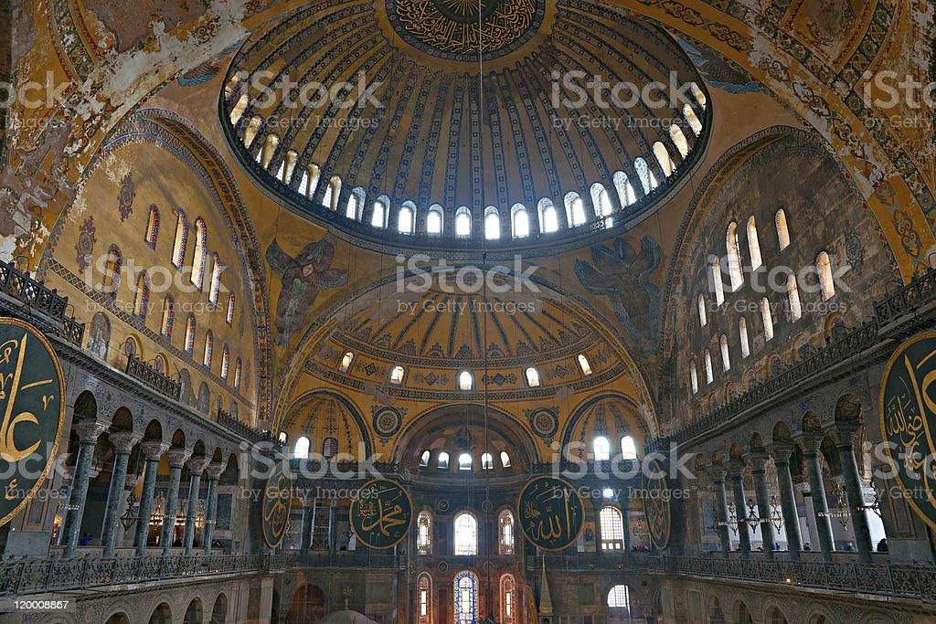 Die Kuppel des Hagya Sofia Moschee, istanbul. – Foto