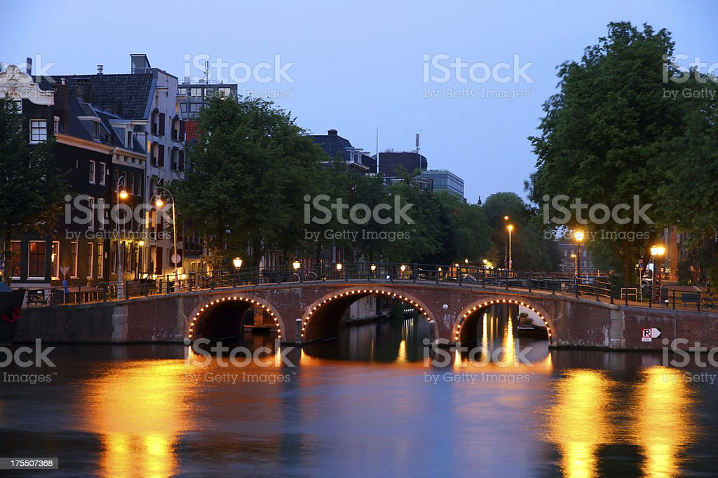 The Curve of A bridge royalty-free stock photo