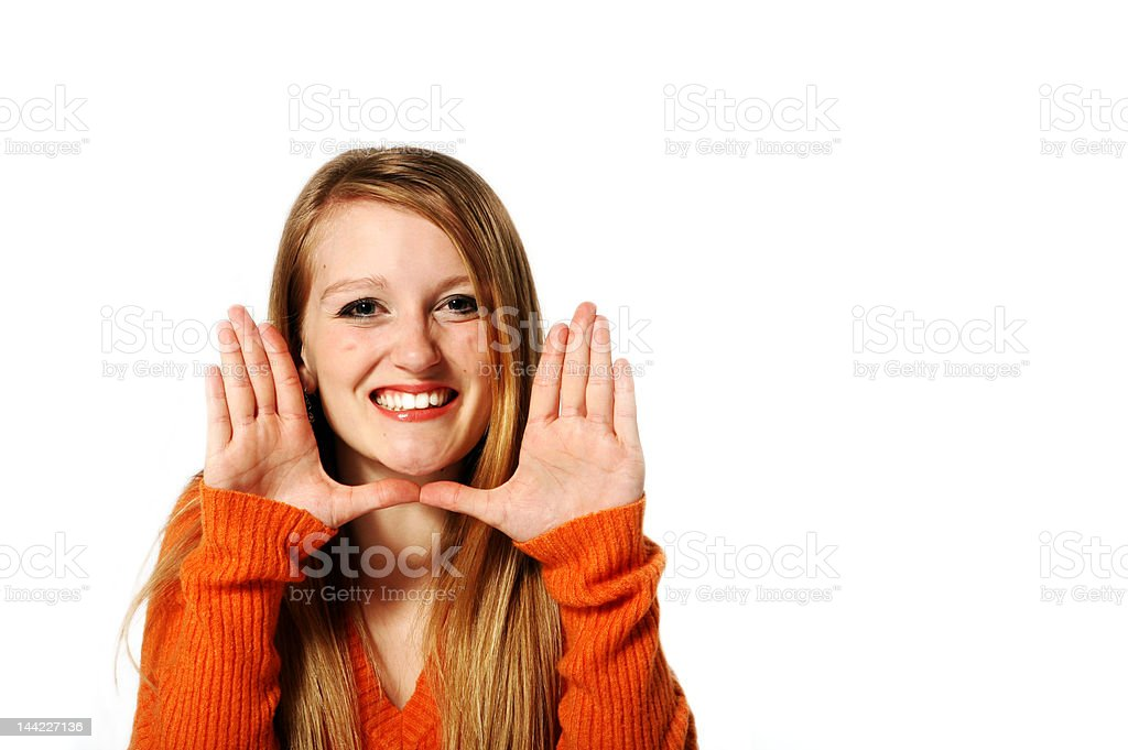 The Cutest Face royalty-free stock photo