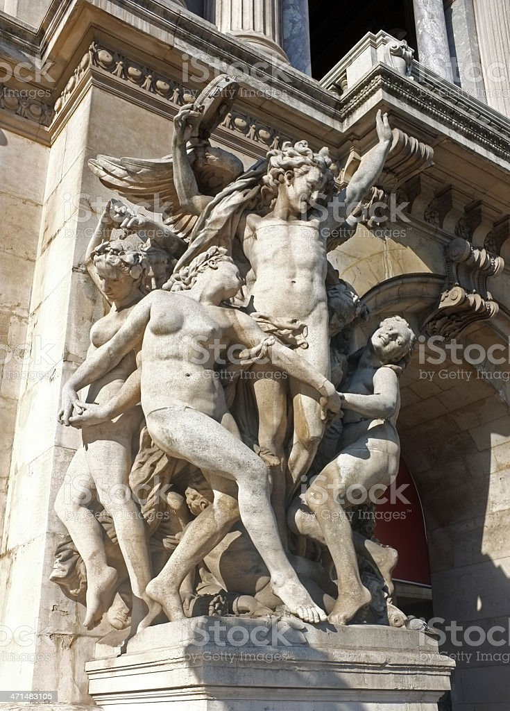 The Dance, Paris, Opera House royalty-free stock photo