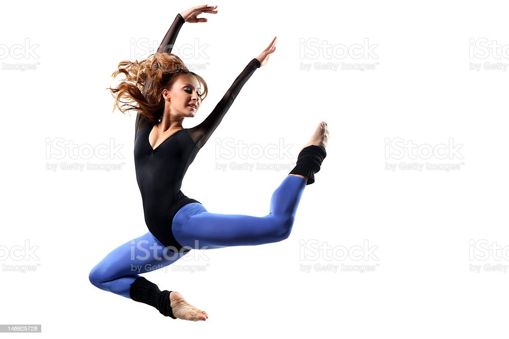 the dancer royalty-free stock photo