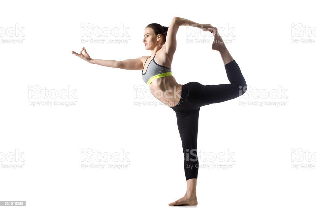 The Dancer pose stock photo