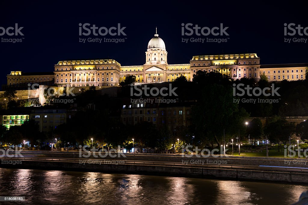 The Danube Bank stock photo