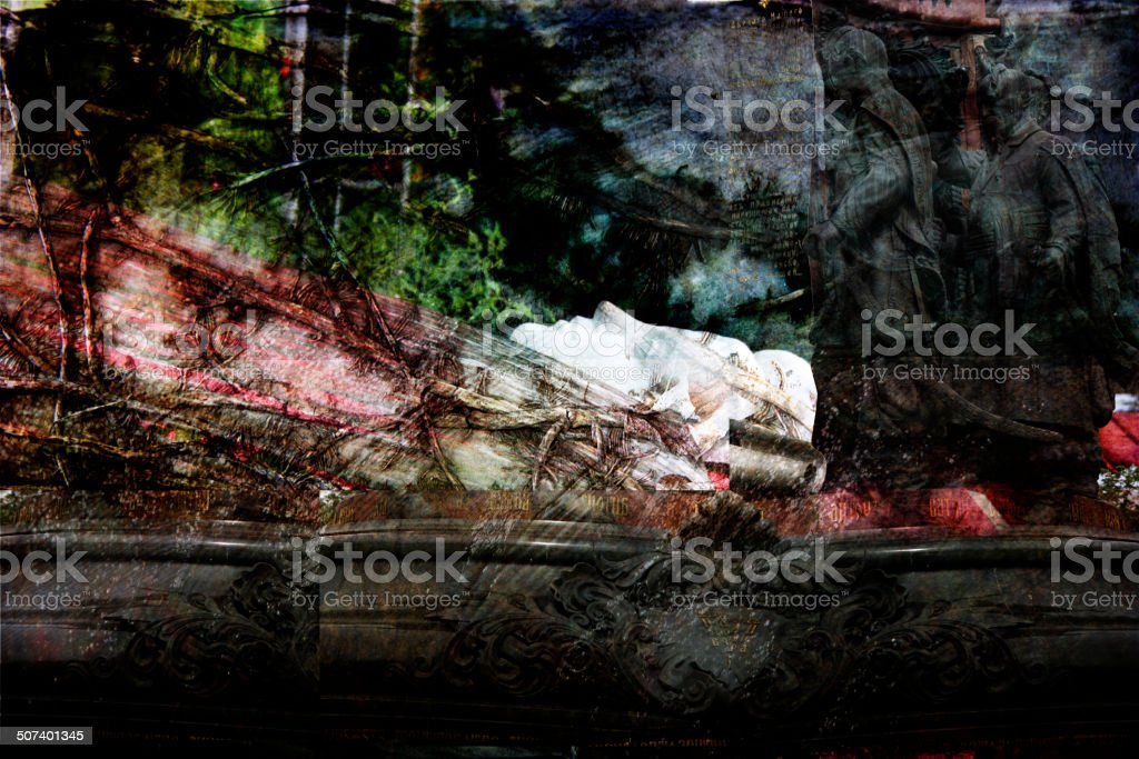 The dark image, the background, the imposition of abstract textu royalty-free stock photo