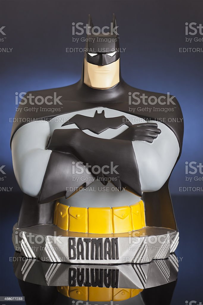 The Dark Knight stock photo