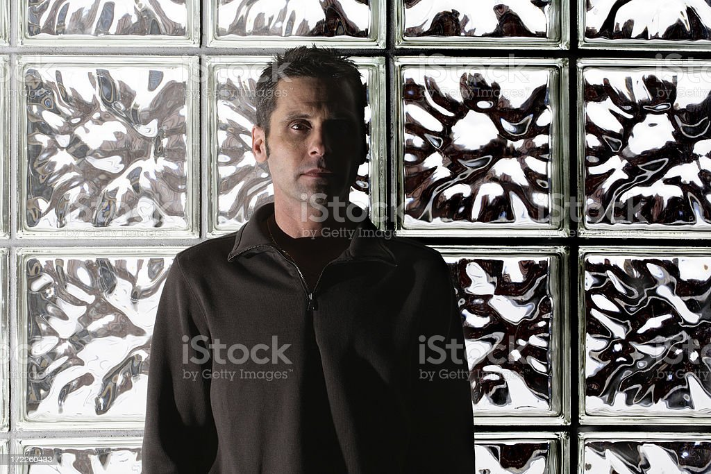 The Dark Side Of Life stock photo