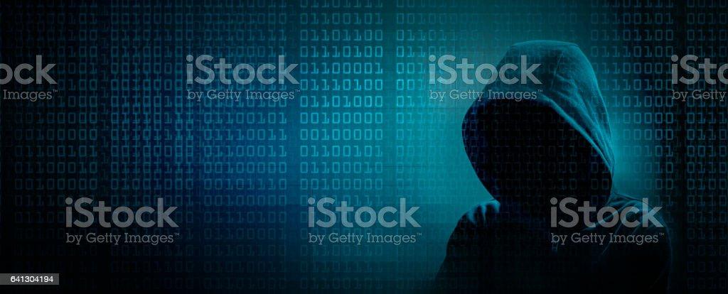 the dark web stock photo