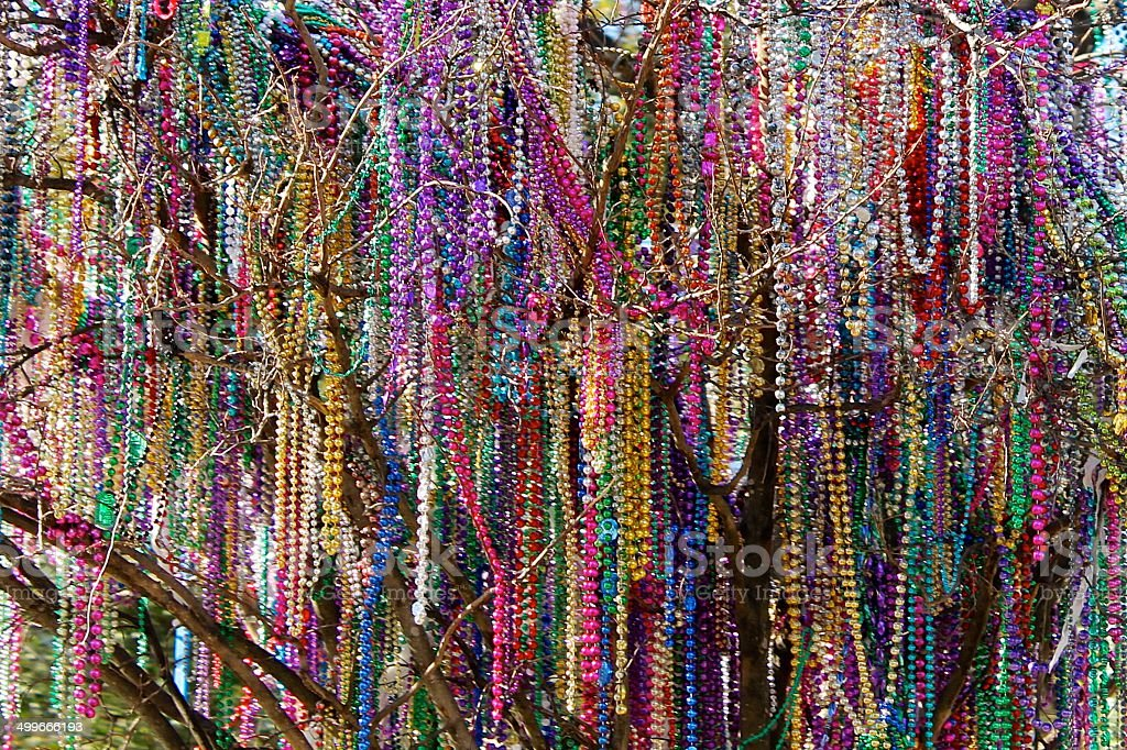 The day after mardi gras stock photo