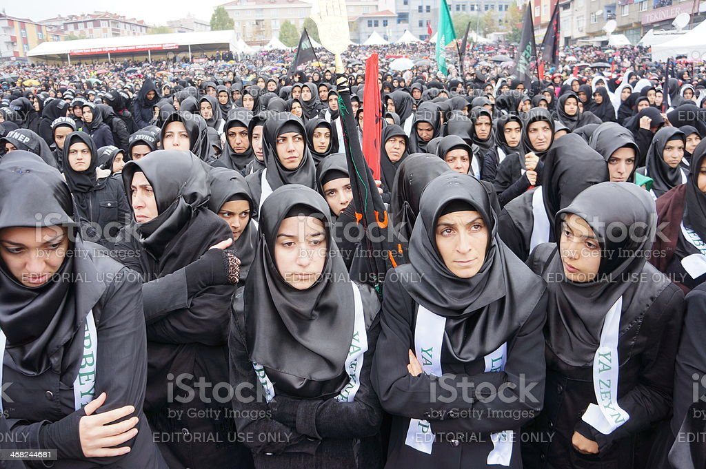 The Day of Ashura in Istanbul. stock photo
