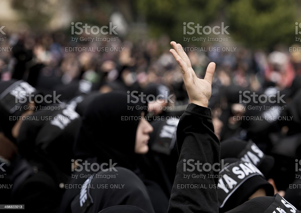 The Day Of Ashura in Istanbul royalty-free stock photo