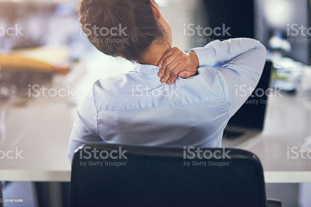 The day's been way too long... stock photo