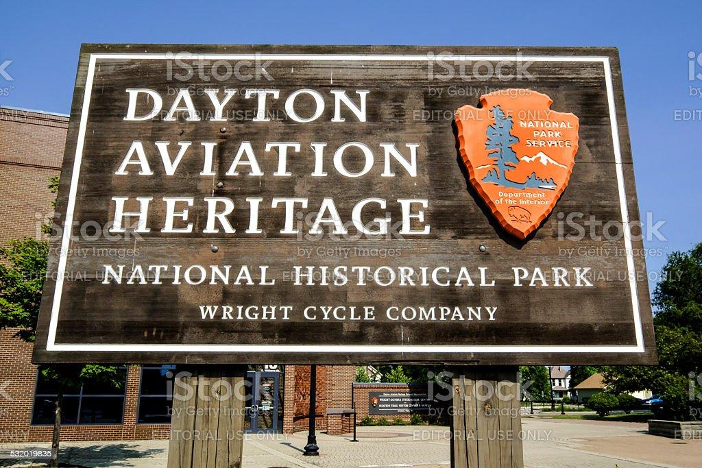 The Dayton Aviation Heritage center stock photo