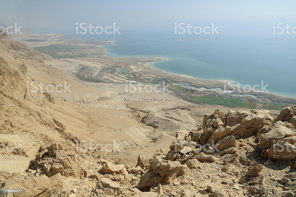 The Dead Sea, Israel, stock photo