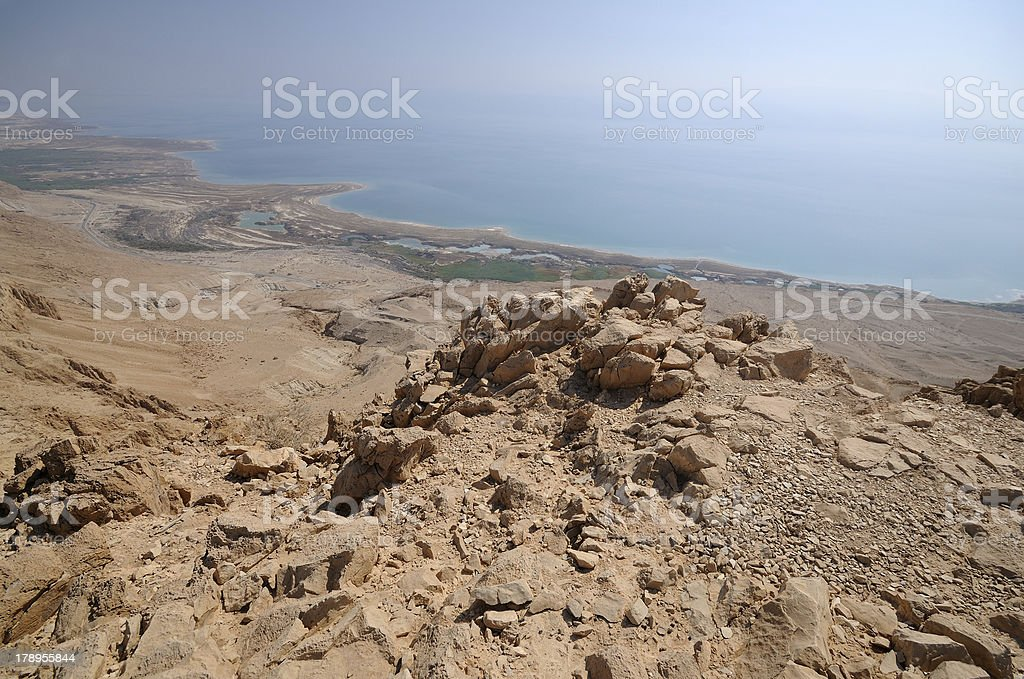 The Dead Sea, Israel royalty-free stock photo