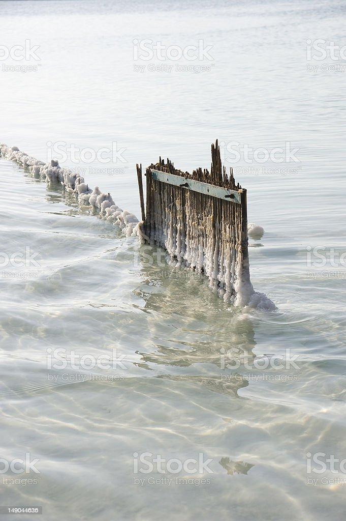 The Dead Sea stock photo