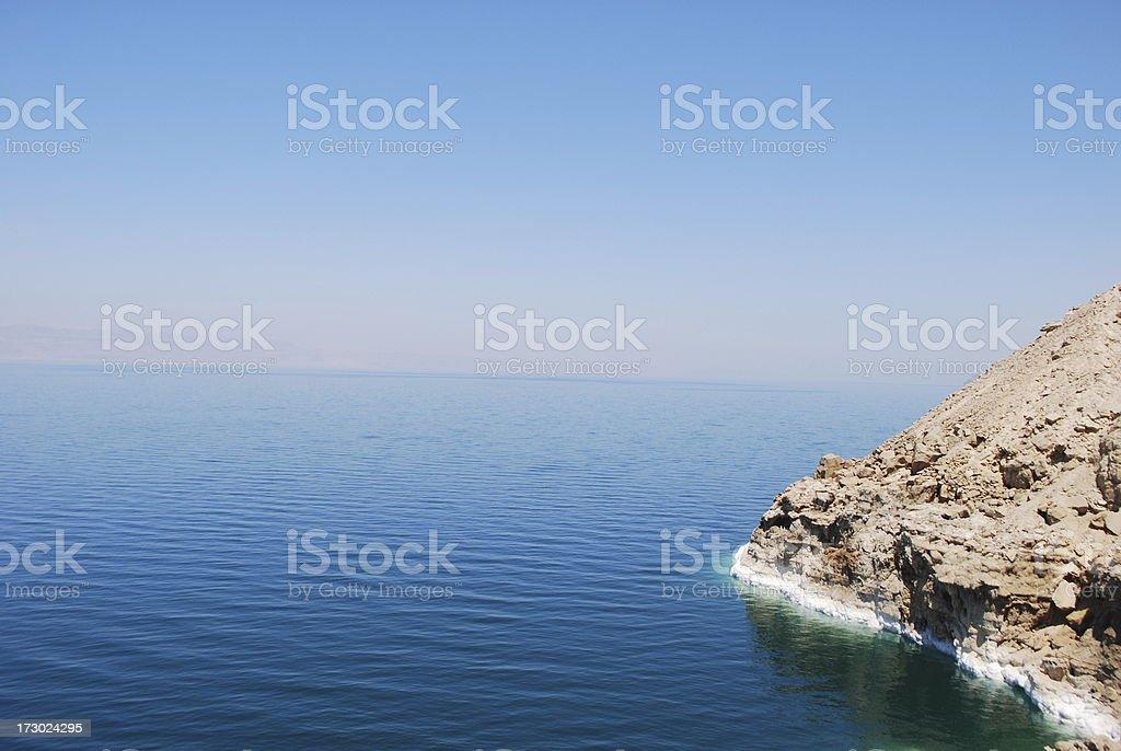 The Dead Sea royalty-free stock photo