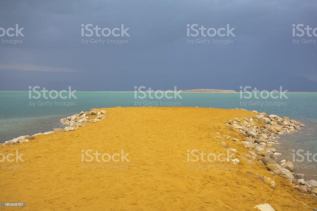 The Dead Sea. royalty-free stock photo