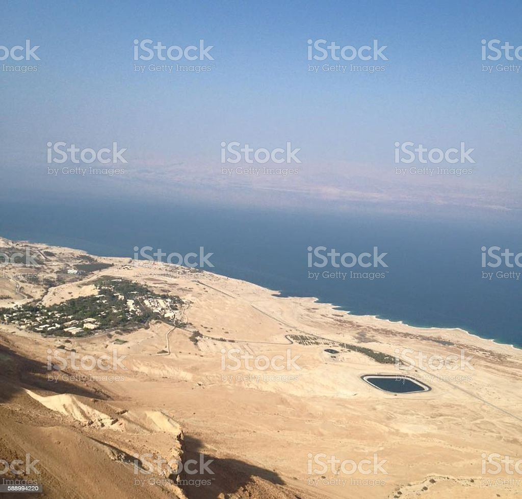 The Dead Sea stock photo
