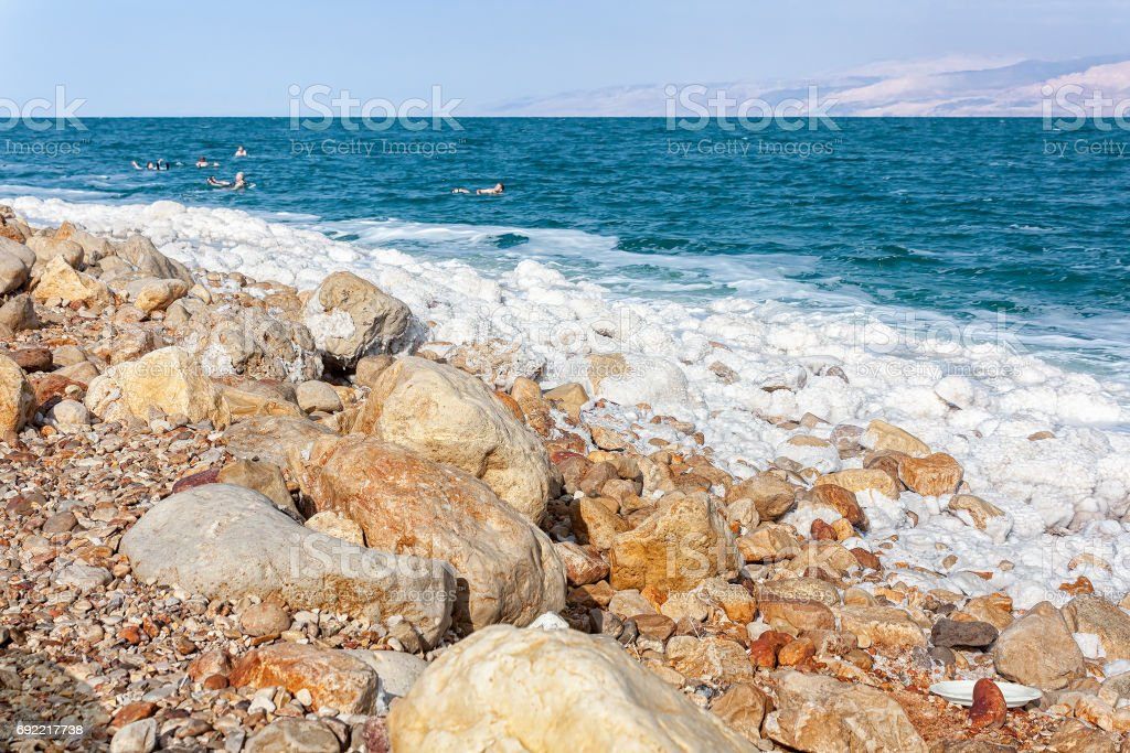 The Dead Sea - The Holy Land stock photo